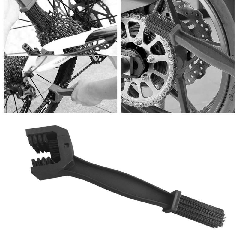 Accesorios para coche, limpiador de neumático Universal para el cuidado de la llanta, herramienta de limpieza para el mantenimiento de la cadena del engranaje de la motocicleta