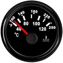 Indicateur universel de température de leau   Pour voiture moteur Tuck Yacht bateau RV pointeur de température