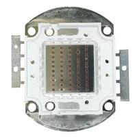 1pcs led 50w red light integrated 620nm 625nm 660nm 665nm 740nm 745nm 850nm 855nm 940nm 945nm