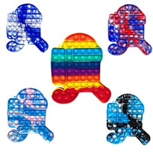 1PC Push Bubble Fidget Sensory Toy Autism Special Needs Stress Reliever Stress Reliever Adult Childr