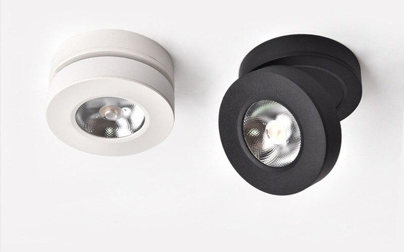 Súper fino plegable montado en la superficie LED Downlight 5W 7W 10W...