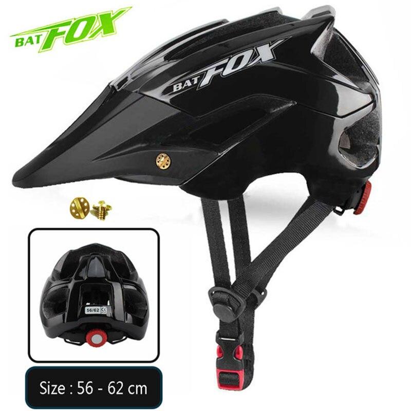 BATFOX-Casco de bicicleta ultraligero moldeado integralmente, de Ciclismo de montaña o carretera...