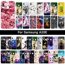 For Samsung Galaxy A20E Case Soft TPU Silicone Luxury Patterned Protective Cover for Samsung A20e Ph