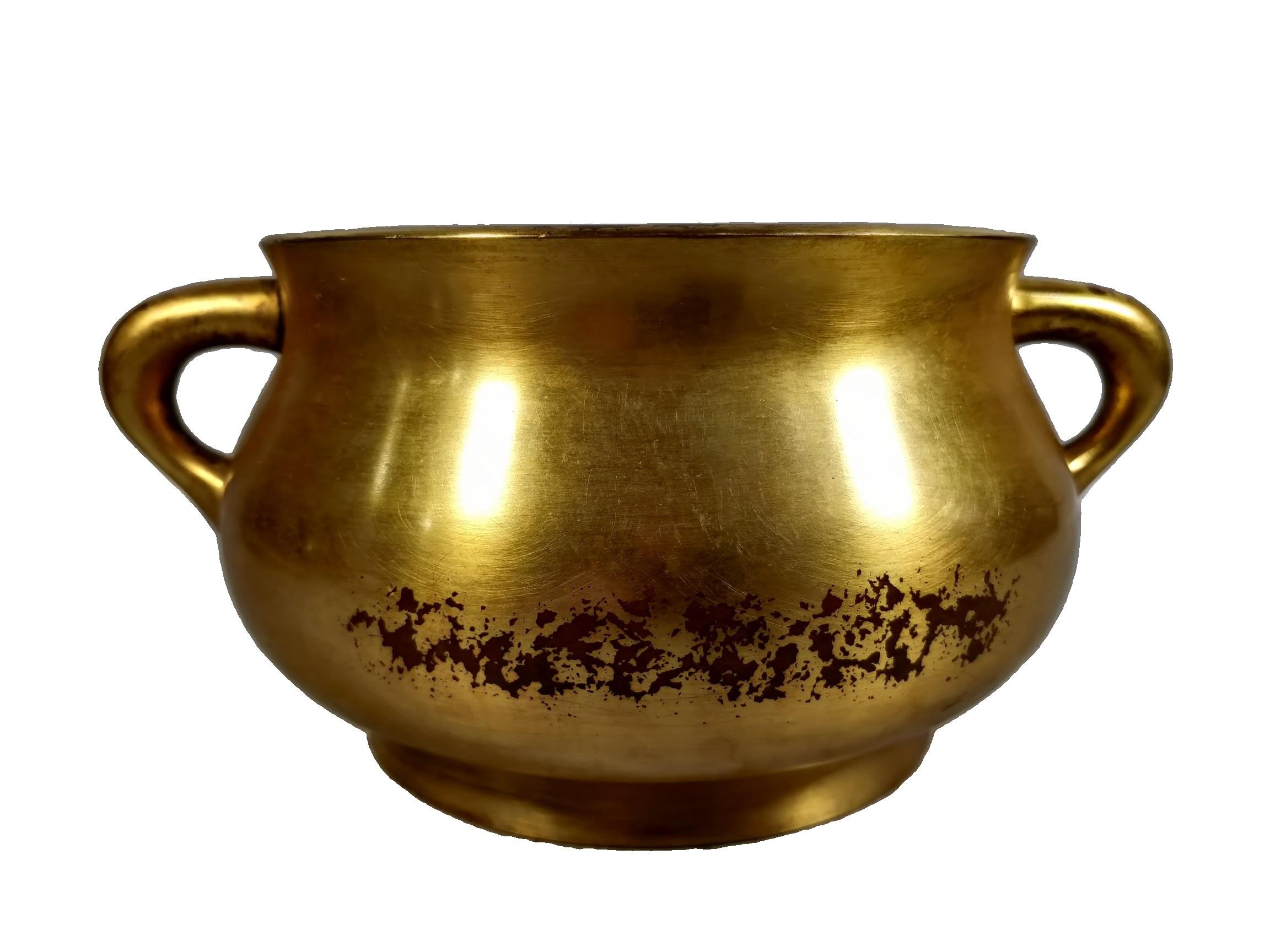 Laojunlu الأرجواني البرونزية مذهب مبخرة العتيقة برونزية تحفة مجموعة من المجوهرات الانفرادي النمط الصيني التقليدي