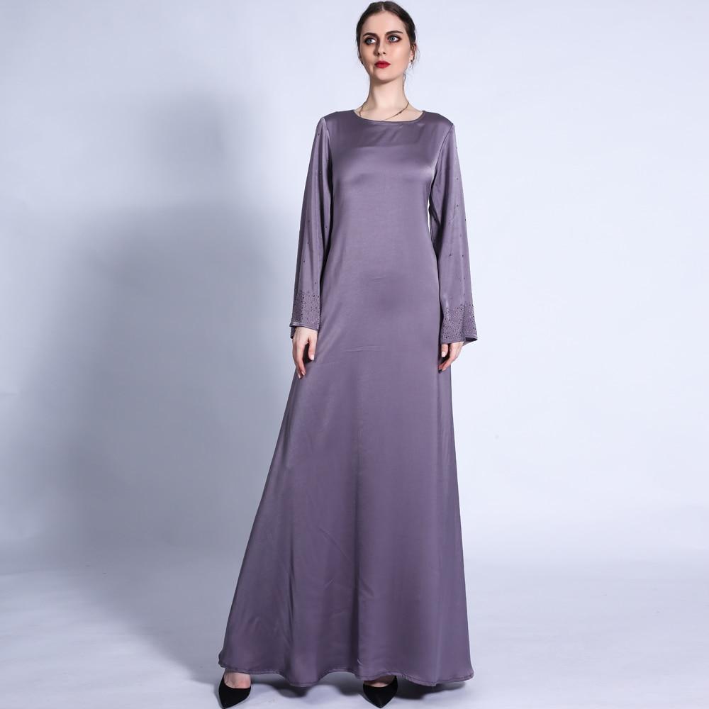 عبايات رمضانية للعيد عبايات ماسية مطرز بالحجاب فستان إسلامي قفطان تركي إسلامي قفطان عباية حزام F2922