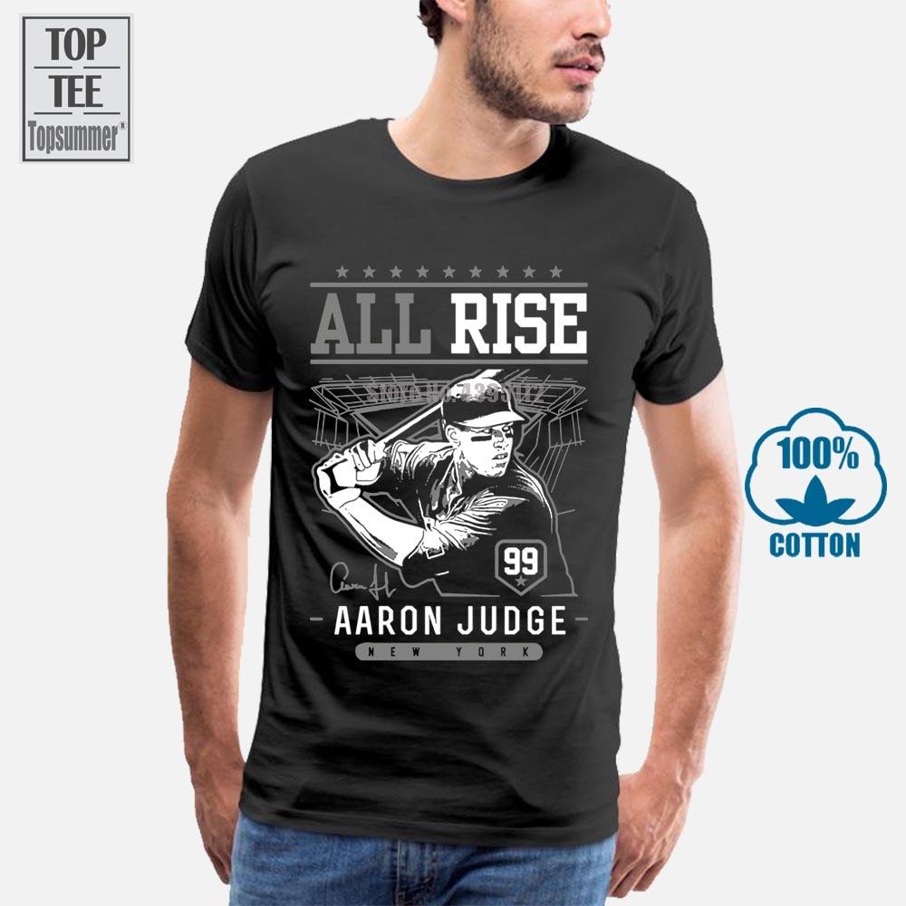 Camiseta Aaron Judge All Rise, camiseta nueva de Aaron Judge York Yankees, Camiseta corta Sle