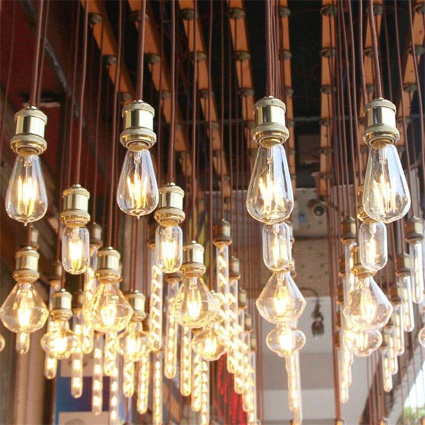 Free Shipping LED Edison Vintage Light Bulbs, 4W 6W 2200K , Dimmable LED Edison Bulb Antique LED Filament Bulbs, AMBER Glass, enlarge