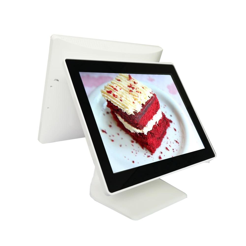 نقطة البيع كومب بوس محطة 15 بوصة بالسعة شاشة تعمل باللمس نظام pos مطعم تسجيل النقود بالسوبر ماركت