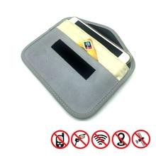 1pcs Signal Blocking Bag Car Fob Signal Blocker Faraday Bag Signal Blocking Bag Shielding Pouch Wall