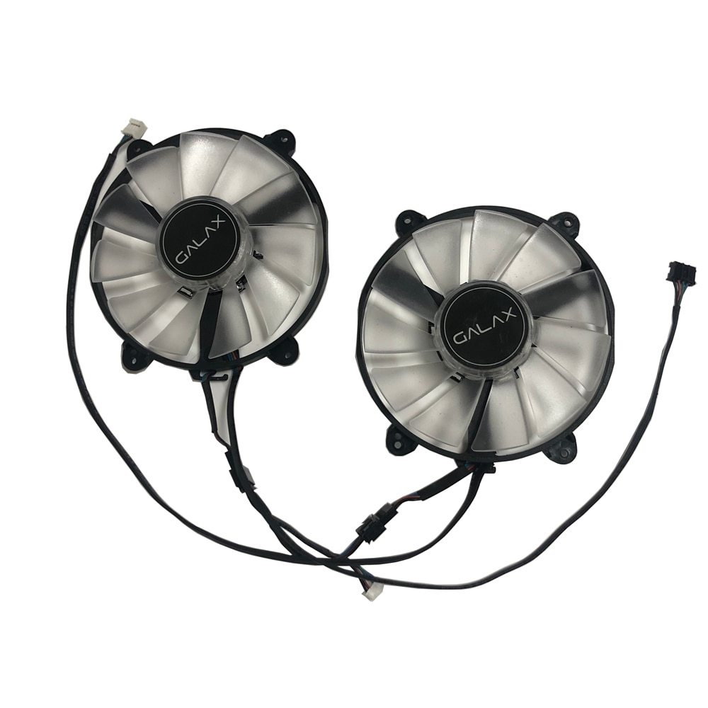 2pcs/Set GPU Cooler Graphics Card Fans FY09015M12LPA For GALAXY GeForce RTX2060 Super RTX 2070 Video Card Cooling