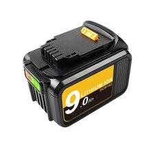 Bonacell 18V 9.0Ah MAX XR батарея Электроинструмент Замена для DeWalt DCB184 DCB181 DCB182 DCB200 20V 5A 18 вольт 18В батарея
