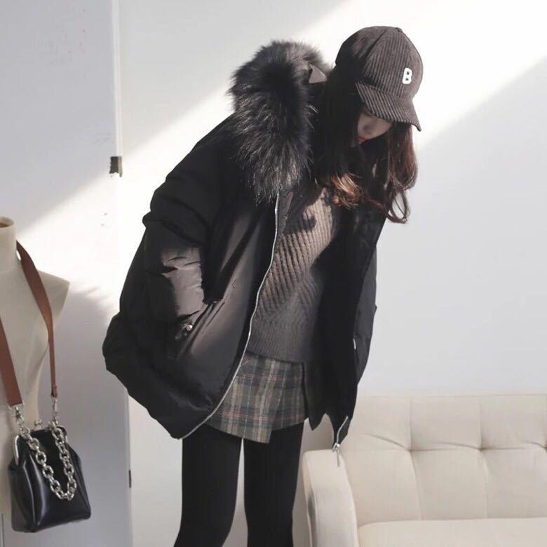Invierno cálido 90% chaqueta de plumón de pato mujer Natural Chaleco de...