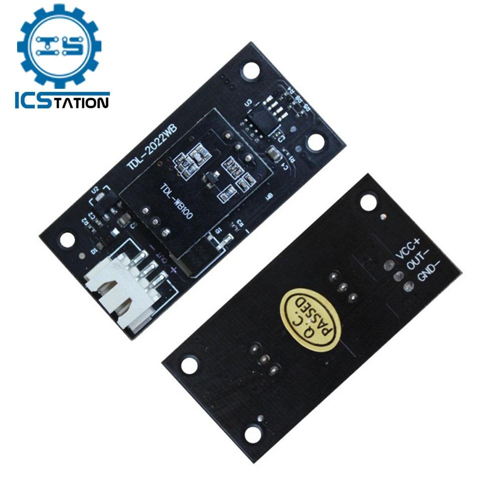Capteur Radar micro-ondes 2.7G, Module d'induction, interrupteur DC 7-24V, capteur Intelligent, Distance de détection de 10 mètres