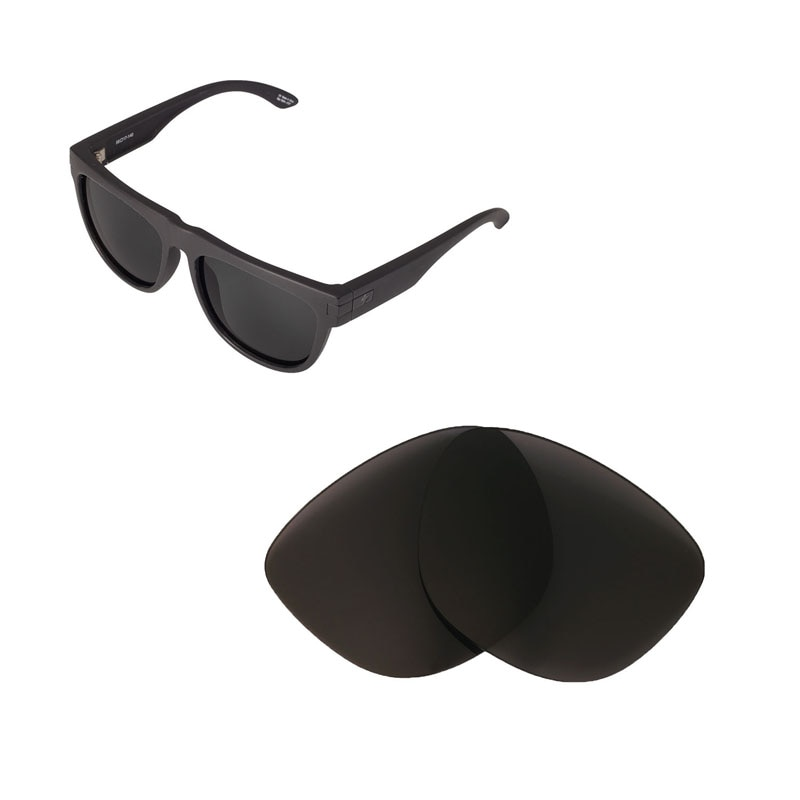 Walleva Polarized Replacement Lenses for Spy Optic Wayfarer Sunglasses USA shipping