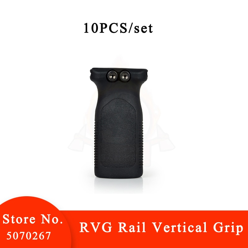 10Pcs/set Element Choice RVG Rail Vertical Grip Front Forward Foregrip for Picatinny Rail AirGun AR15 Polymer Grip for 20mm