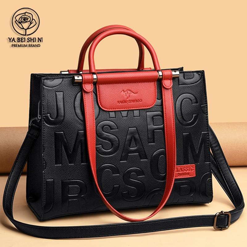 Large Capacity Retro 2021 New Ladies Bag Leather Woman Handbag Hot Selling Designer Totes Women Bag Large Brand Bags Luxury