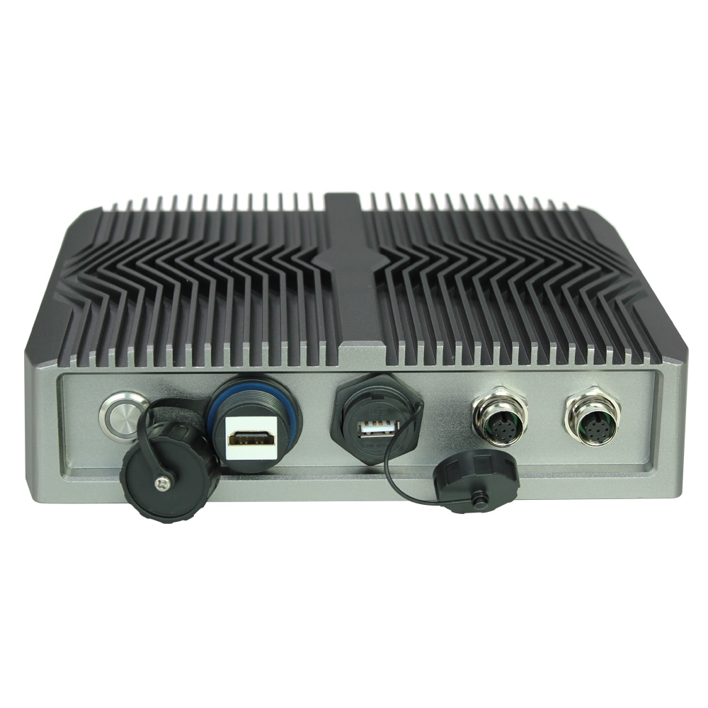 rugged industrial computer  4305U  i3-8145U i5-8265 series cpu waterproof embedded pc computer over IP66/IP69k industrial box pc