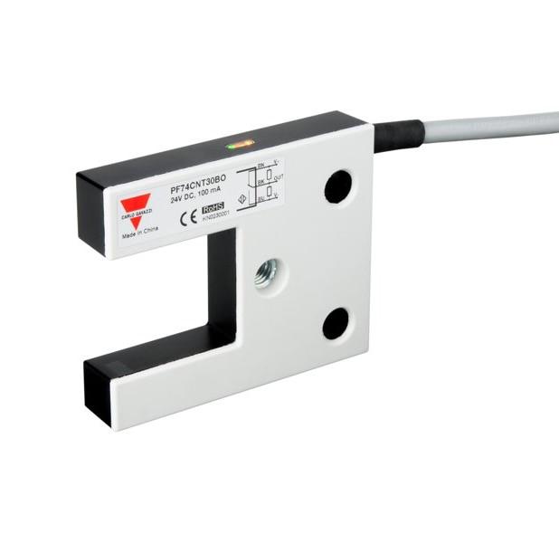 Carlo Gavazzi PF74CNT30BO3376 30mm Photoelectric Fork Sensor for Lifts