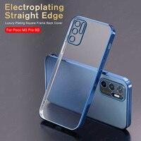Матовый чехол с прямым покрытием для Xiaomi Poco M3 Pro, чехол для Pocophone PocoM3 M 3 Pro M3Pro X3 GT, защита для фотокамеры, прозрачные чехлы