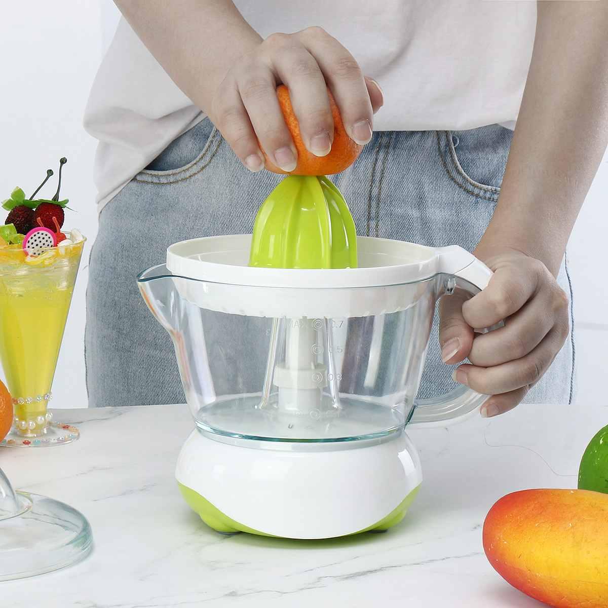 Бытовая портативная электрическая соковыжималка для апельсинового сока, электрическая соковыжималка для апельсинов, цитрусовых, лимонов, ...