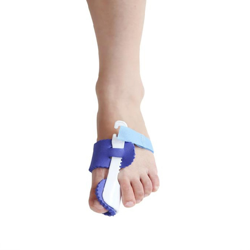 1 Pair Toe Separator Straightener Bunion Hallux Valgus Corrector Splint Pain Relief Orthopedic Brace