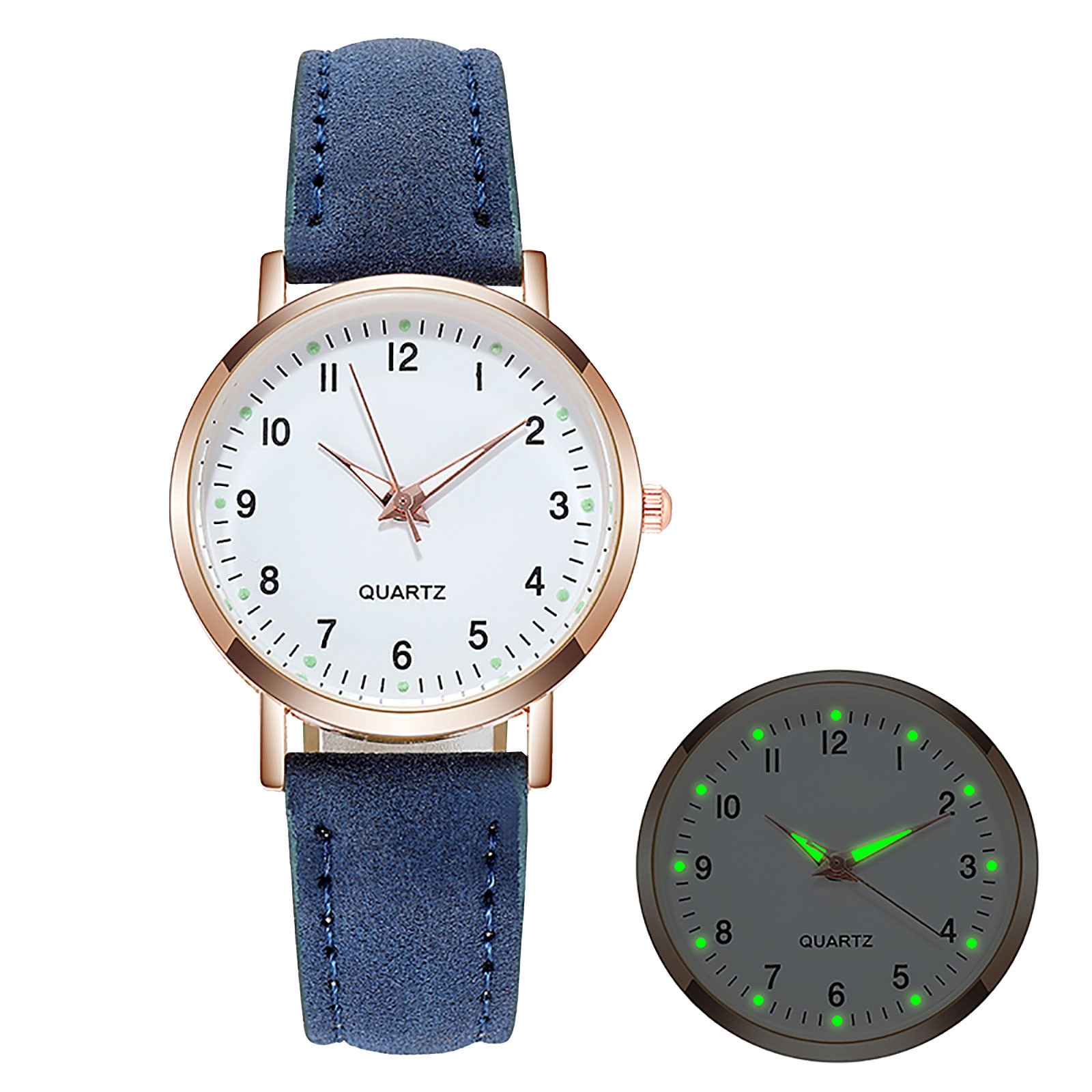 Small New Watch Women Fashion Casual Leather Belt Watches Simple Ladies' Small Dial Quartz Clock Dre
