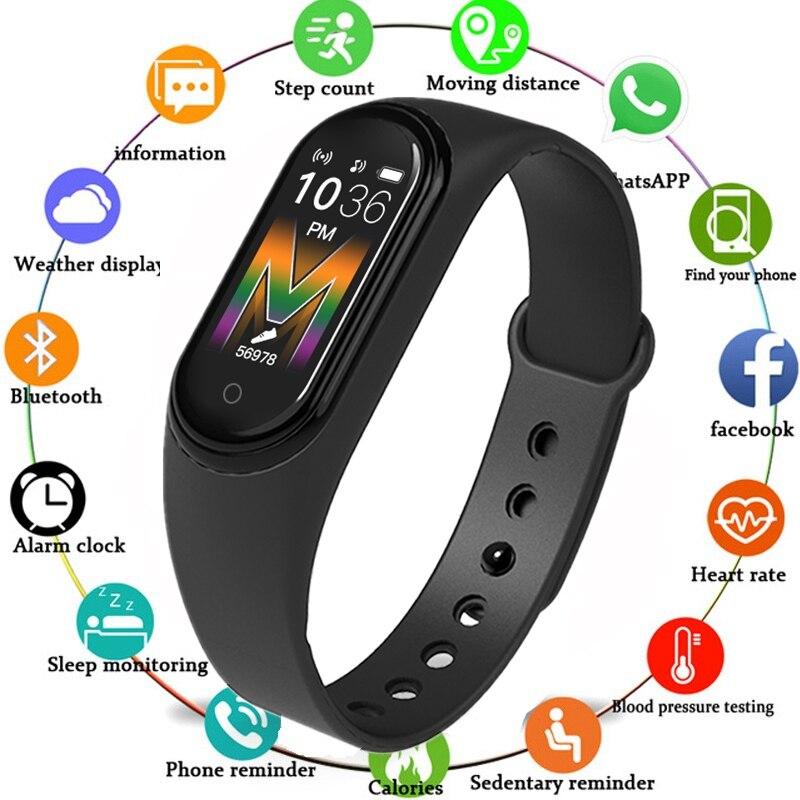 M5 Smart armband 0,96 in IP68 Wasserdichte Bluetooth anruf Musik Spielen fitness tracker monitor Smart Armband Band Uhr Schrittzähler