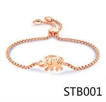 STB1 I lOVE U pendentif bracelets porte-bonheur femme Style européen émail perles coeur Bracelet pour femmes bijoux cadeau