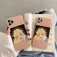 Carcasa para teléfono móvil iPhone X/XS/XR/SE de Spoof Cinderella para Iphone7p macho para mujer 8Plus