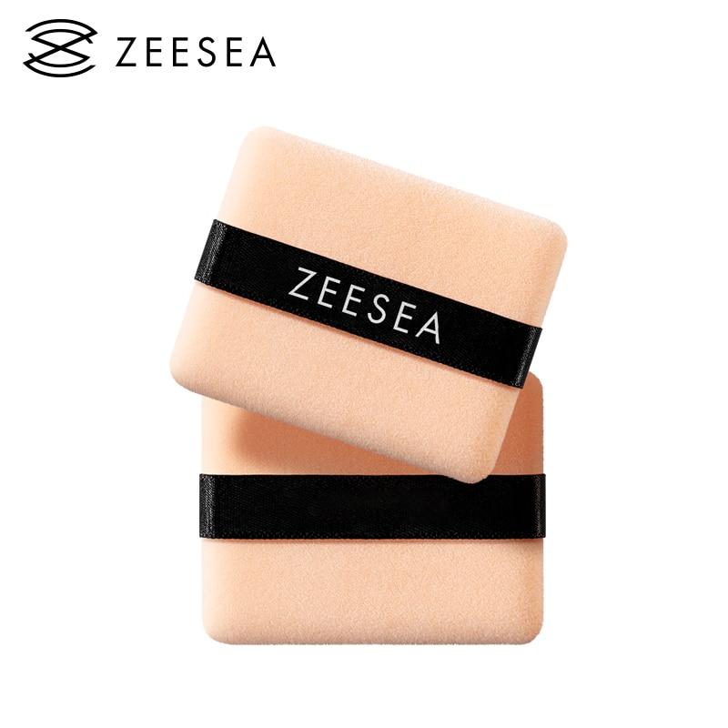 ZEESEA 2pcs Professional Makeup Puff Super Sofe Cream Foundation Sponge Face Makeup Facial Cleansing Cosmetic Tools