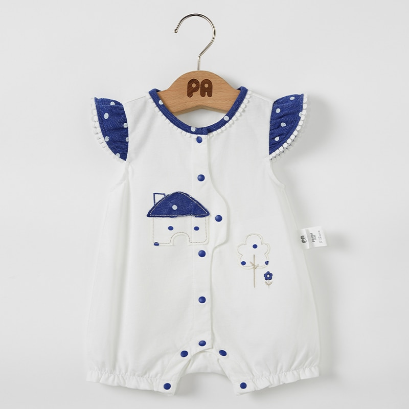 Body de algodón de dibujos animados para recién nacidos, para niños y niñas, mono sin mangas, bolso de bebé, atuendo de pijamas de pingüino, transpirable, pequeño hou