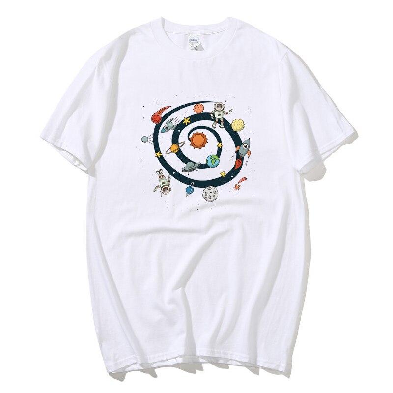 Astronauta T camisa espacio Swing en impresión Digital originalidad camiseta manga corta Camiseta tamaño de la UE 100% de algodón de camiseta
