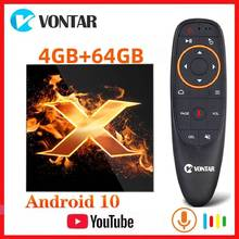 Vontar X1 TV Box Android 10 6K lecteur multimédia Android 10.0 TVBOX OTA BT5.0 2.4 & 5G double wifi AC Google décodeur Youtube