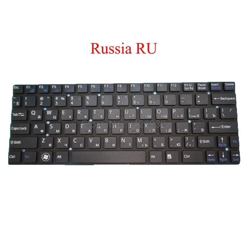 Ноутбук RU BE IT GR CA клавиатура для SONY для VAIO SVT11 SVT111 HMB8808NWA172A 149033991BE 149033991000 Belgium BE black new