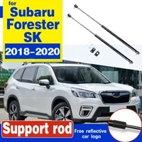 for subaru forester sk 2018 2019 2020 2pcskit support lifting rod shock strut bar for car hood cover hood struts support rod