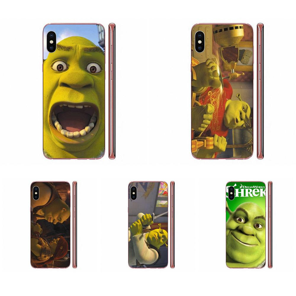 TPU fundas para iPhone 11 Pro XS Max X 8 7 6 6s Plus 5 11 XR SE Popular de 2020 película encantadora Shrek cifras