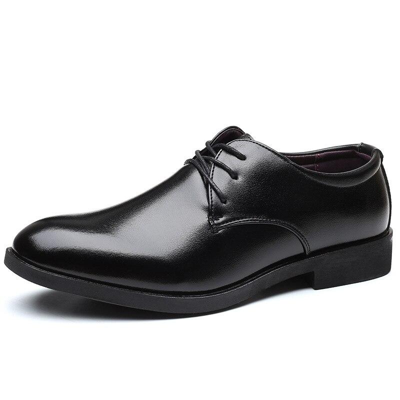 Mazefeng-Zapatos italianos De piel auténtica para Hombre, botas De Vestir, calzado Formal...