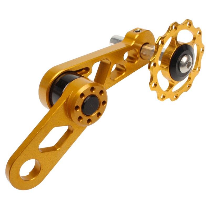 Litepro LP, rueda guía de bicicleta plegable, ovalada, tensor de rueda de cadena, desviador trasero de bicicleta