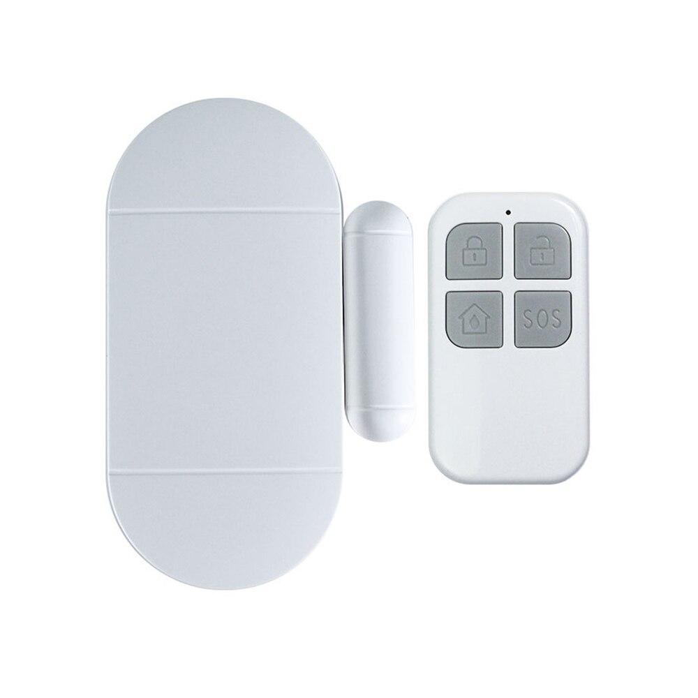Capteur de porte fenetre avec telecommande sans fil  130db  alarme sonore  carillon  Kit de protection domestique