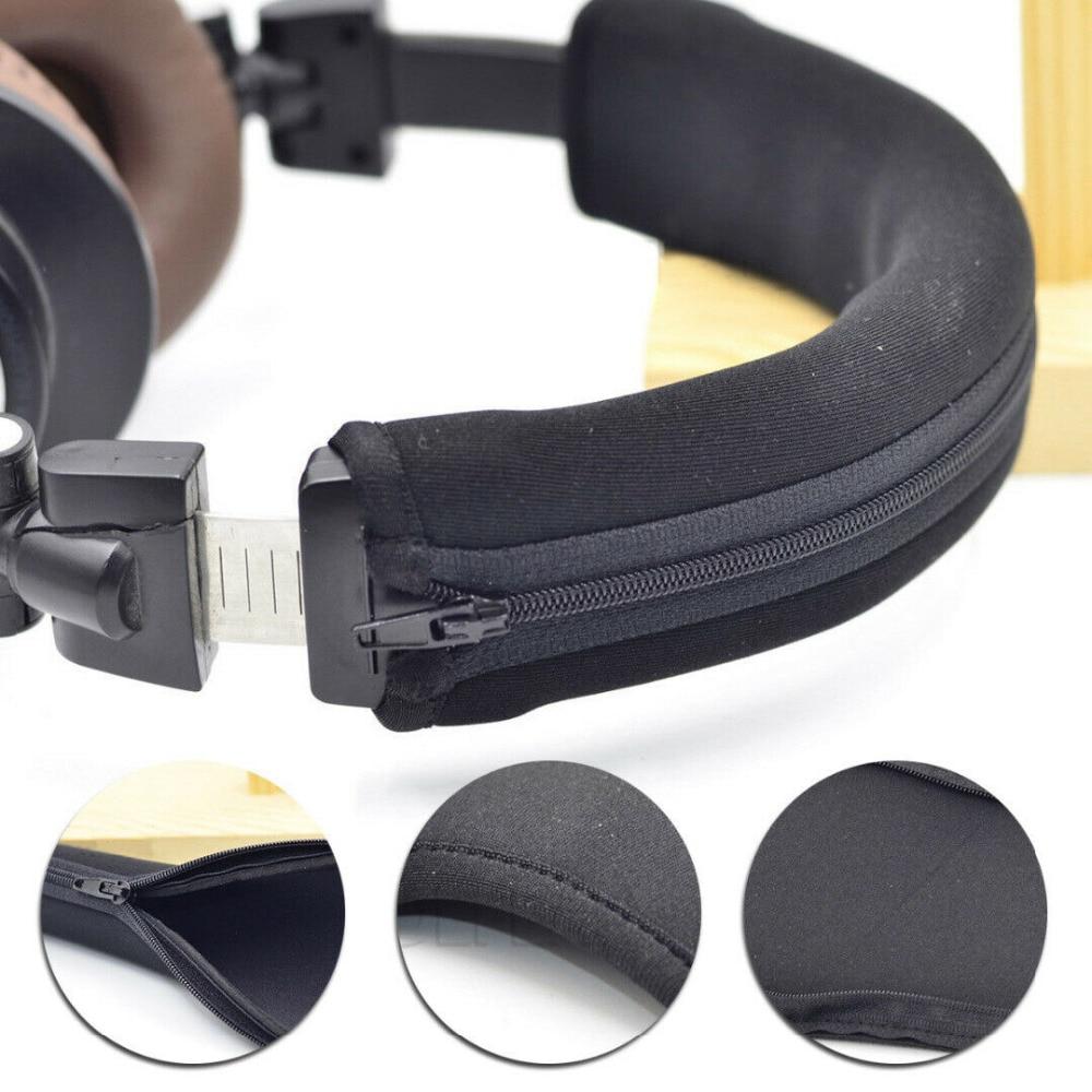 Headphone Protector Zipper Headband For Audio Technica ATH MSR7 M20 M30 M40 M40X M50X SX1 headphone Accessories Dropshipping