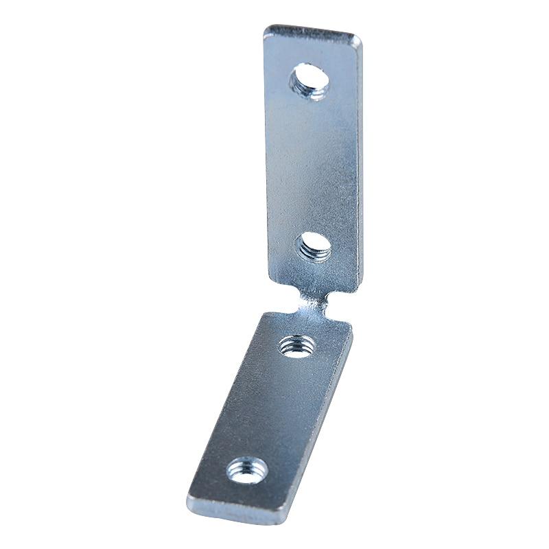 مكونات الاثاث الحديثة بسيطة 90 درجة زاوية سميكة الحديد مقبض كابينة خالية من تركيبات ركن رمز موصل