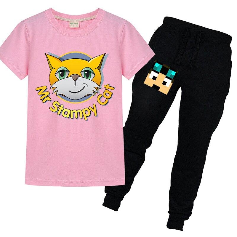 Crianças roupas de verão legal bebê crianças meninos roupas definir roupas céu azul letras de vidro impressão manga curta camiseta topo amarelo pant