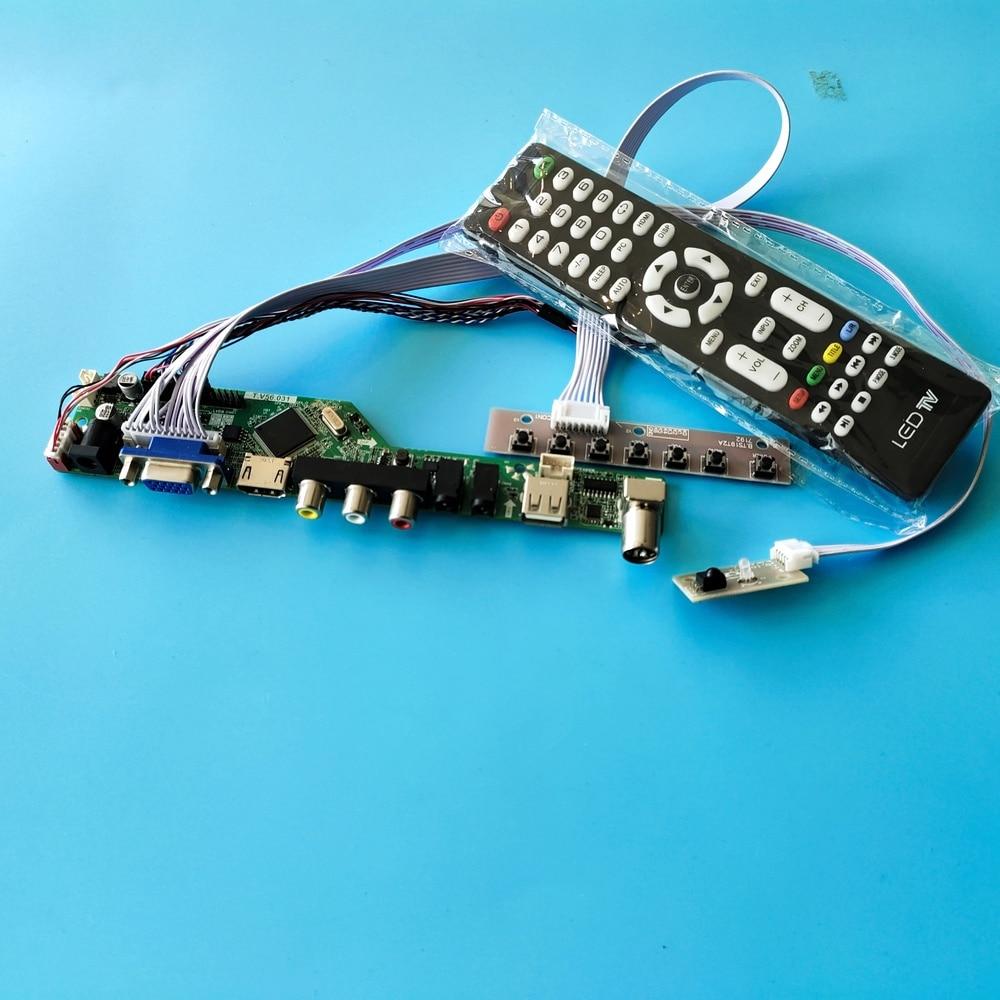kit for B173RW01 V5 Screen panel Controller board driver TV AV LCD LED 17.3