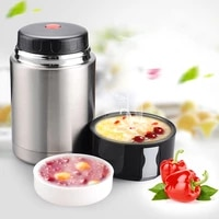 large capacity 800ml1000ml1200ml thermos lunch box portable stainless steel food soup containers vacuum flasks thermocup
