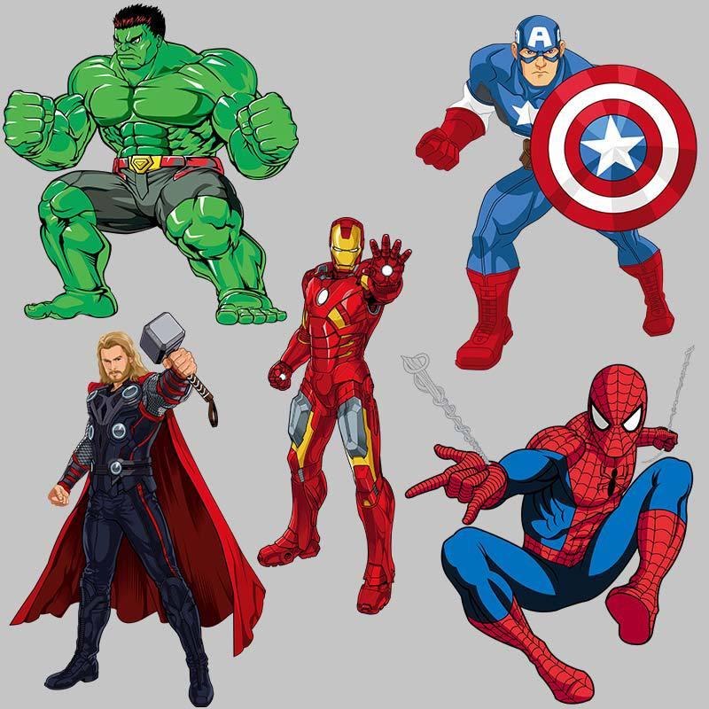 Термонаклейка с рисунком Железного Человека-паука