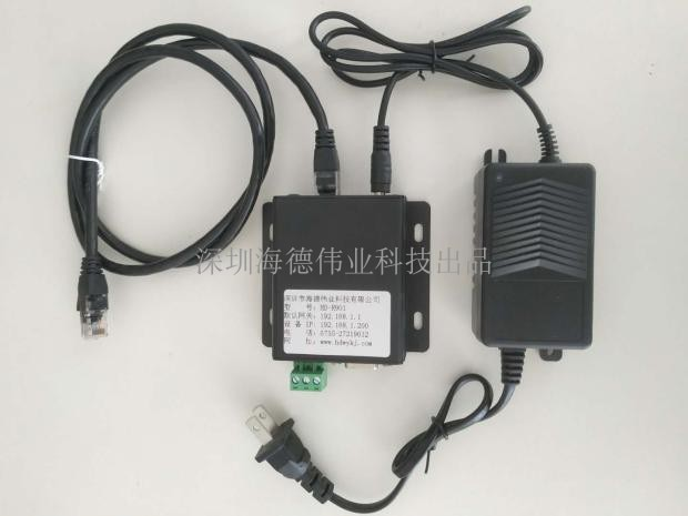 محول بروتوكول شبكة محول بروتوكول الشبكة RJ45 المنفذ التسلسلي المزدوج RS232/485 الصناعية نقل بيانات TCPUDP شفافة