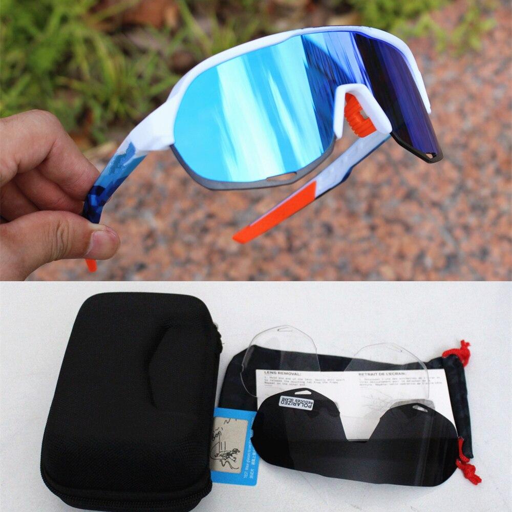 Gafas de sol polarizadas para deportes al aire libre, de marca, para...