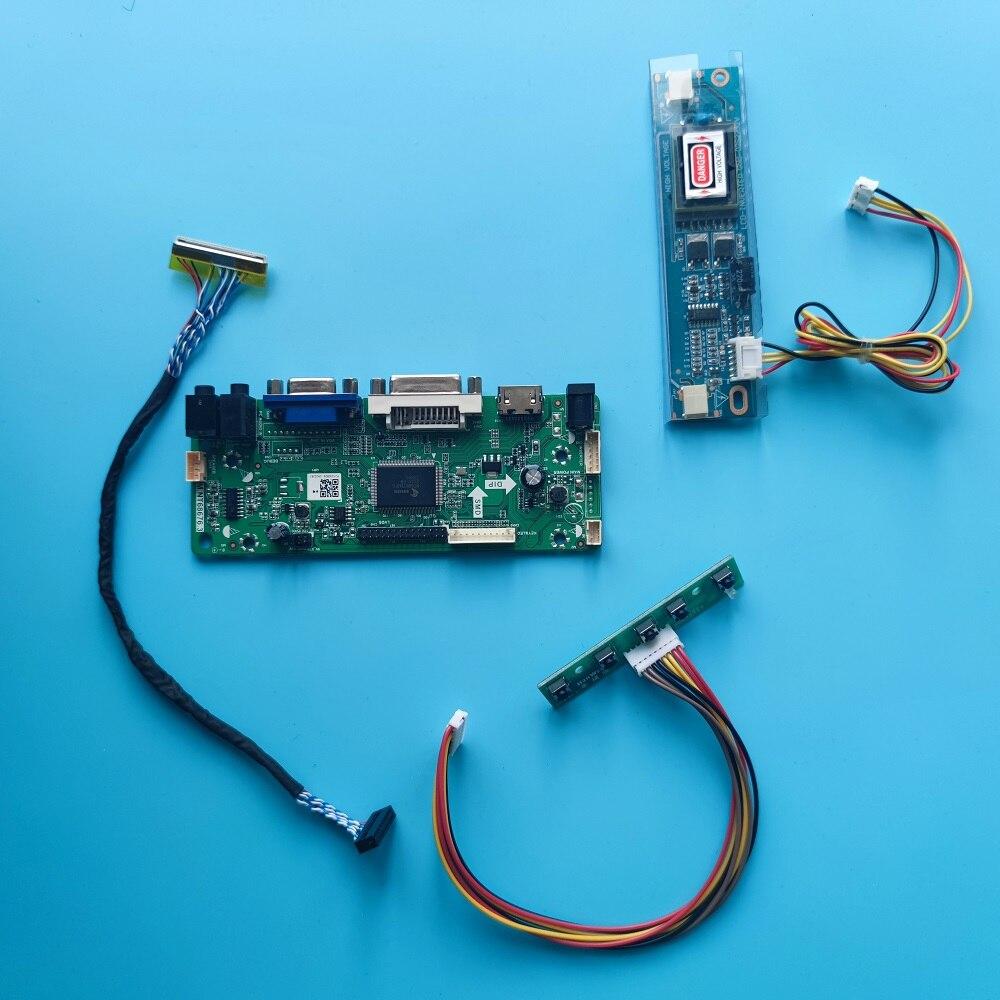 30pin العمل ل 18.5 بوصة CLAA185WA03 CLAA185WA02 1366x768 2 مصابيح جهاز تحكم بالشاشة مجلس LVDS DVI VGA إشارة HDMI-متوافق