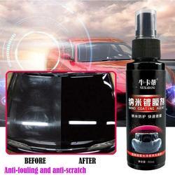 Revestimento cerâmico líquido do pulverizador da cera do pulverizador do carro da limpeza do automóvel de 60ml revestimento superior polonês do vedador do pulverizador do carro rápido nano-revestimento estilo do carro