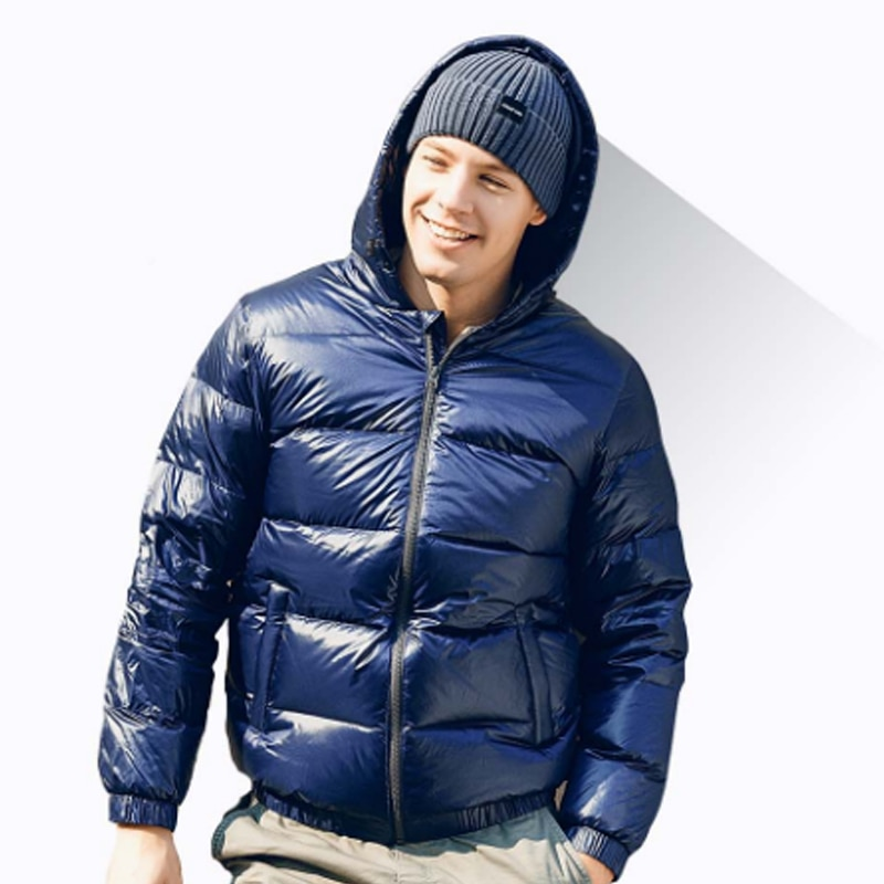 Youpin SKAH Down Jacket Warm Winter Coat Light And Soft Lock Temperature Double-Layer Anti-Drilling Velvet Fashion Clothes enlarge